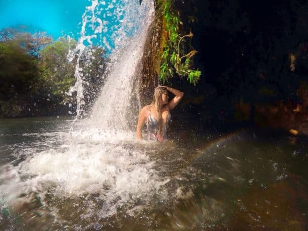 Cachoeira em Rio do Peixe