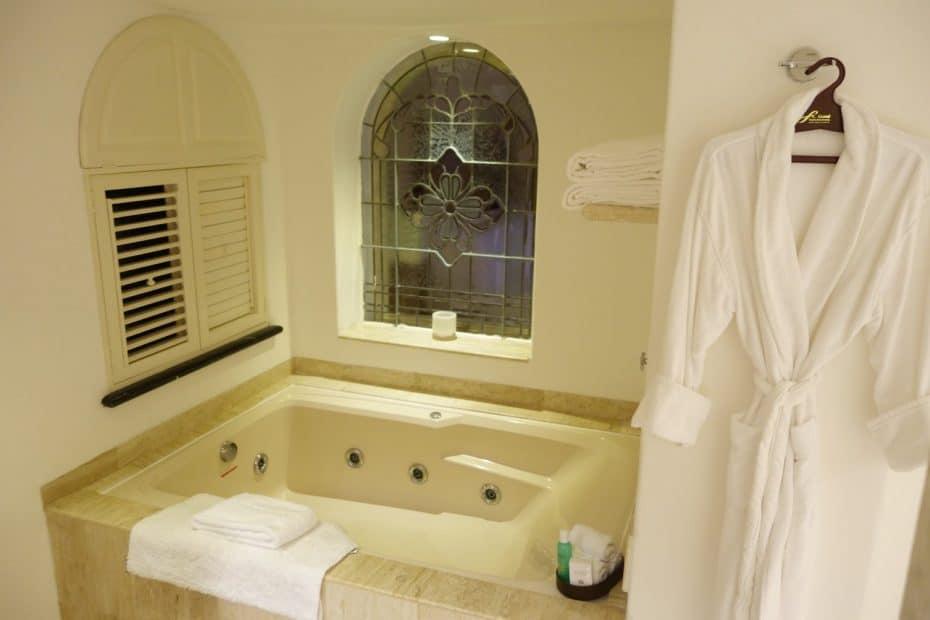 banheiro do Grand Fiesta Americana Cancun
