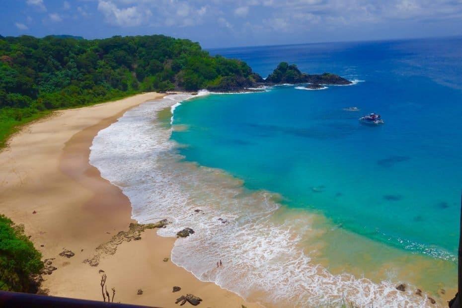 Praia do Sancho Fernando de Noronha