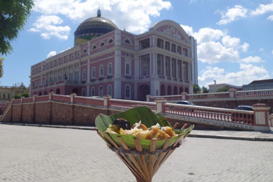 Onde comer em Manaus: Teatro Amazonas