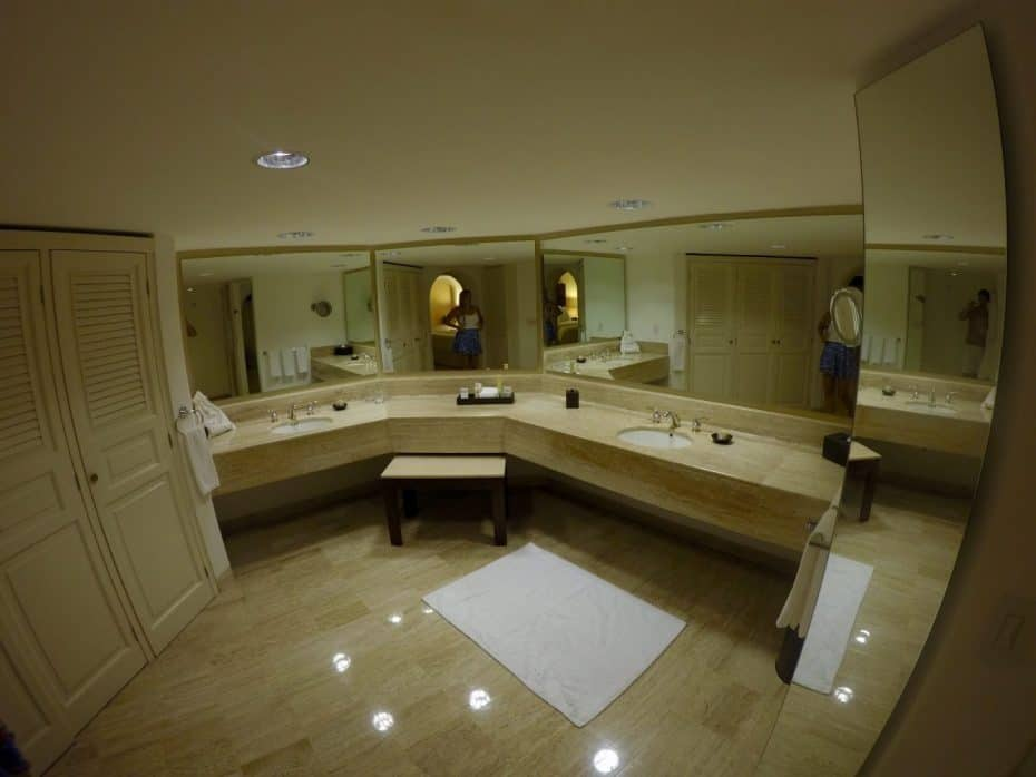 Banheiro Gigante do Grand Fiesta Americana Cancun