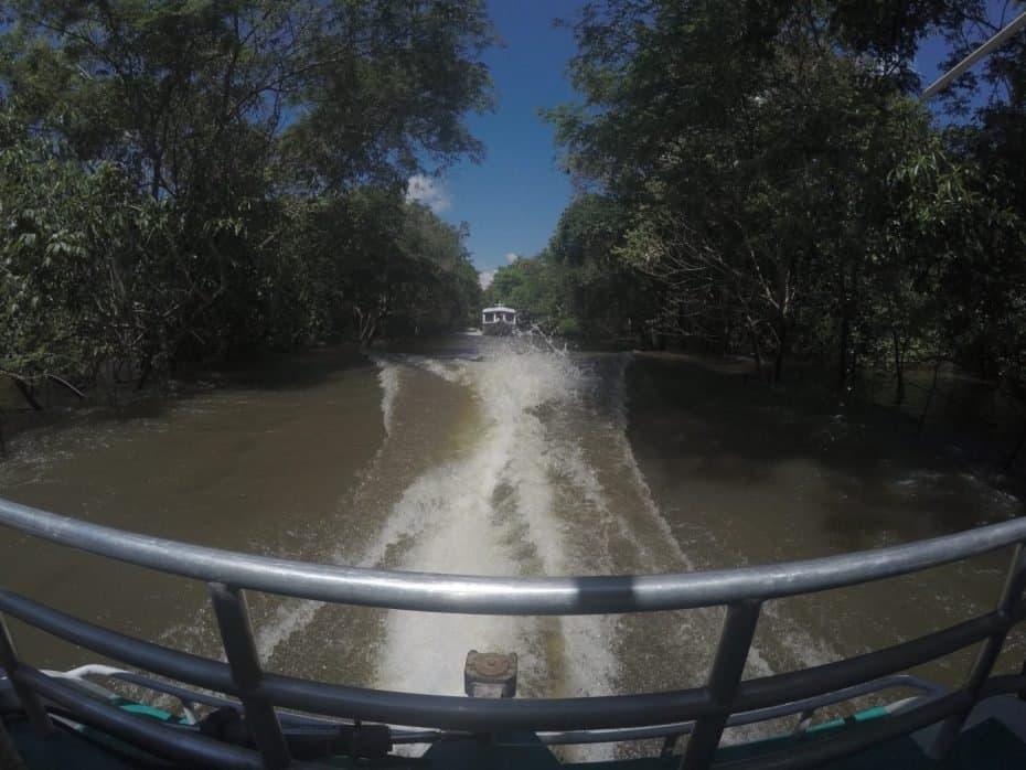 Pontos turístico de Manaus - Igarapé