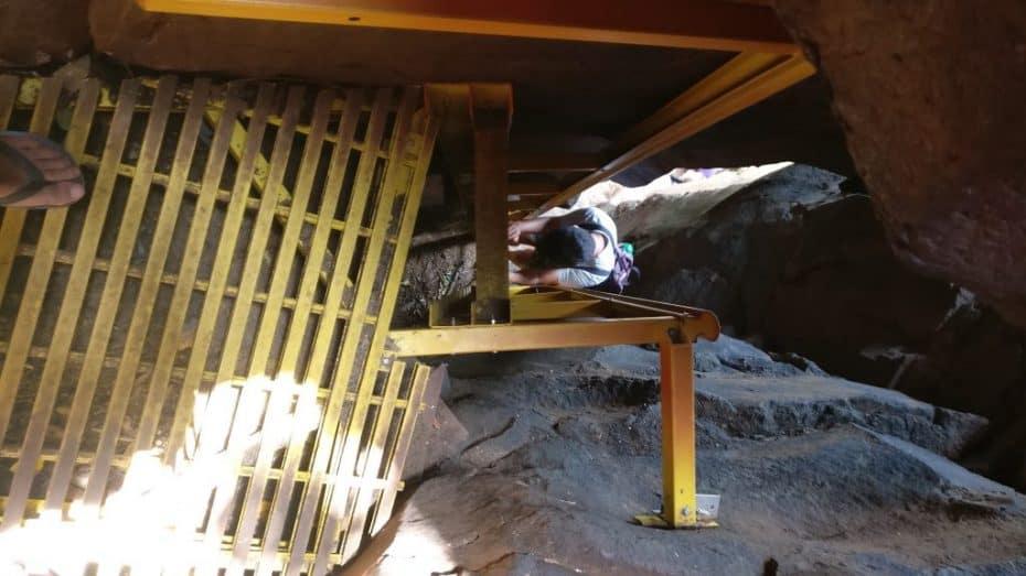 Escada de acesso á Praia do Sancho Fernando de Noronha