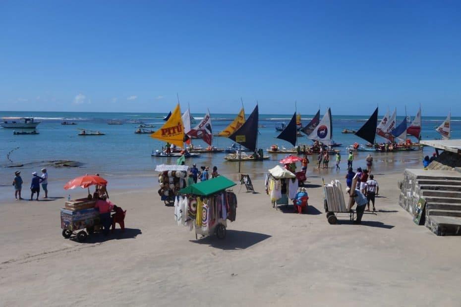Praia de Porto de Galinhas Pernambuco
