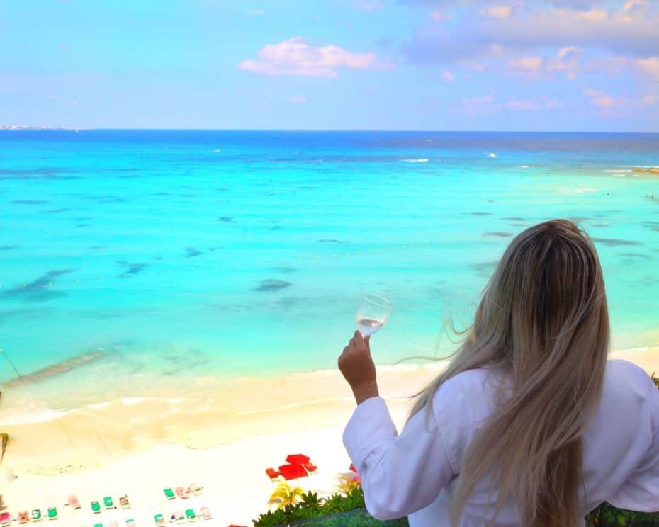 vista do mar de Cancun Grand Fiesta Americana Cancun