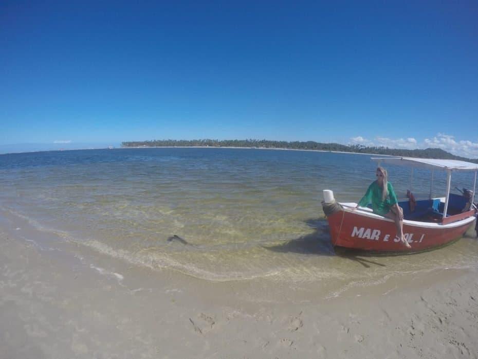 Piscinas naturais da Praia dos Carneiros