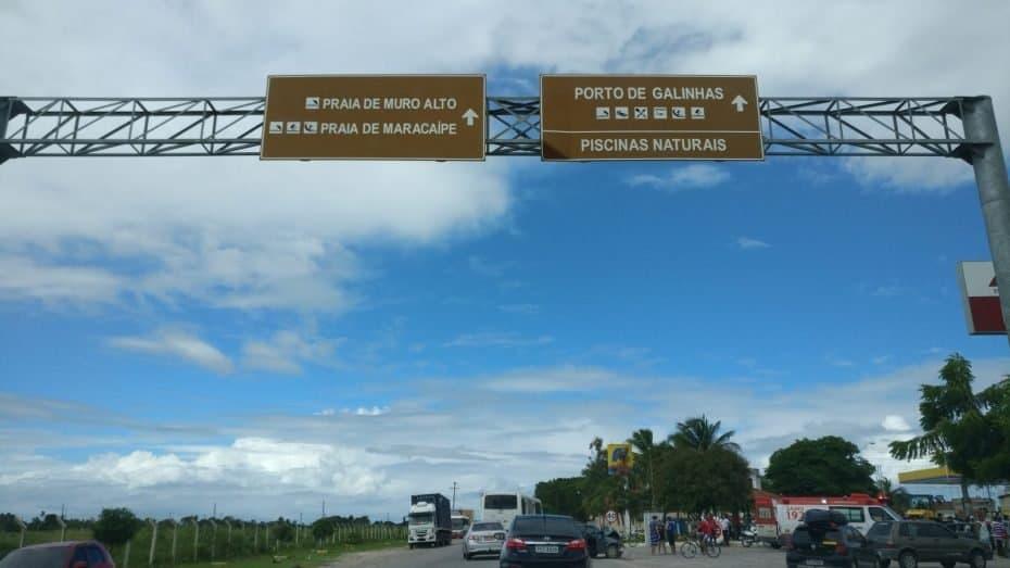 estradas para de Recife para Porto de Galinhas