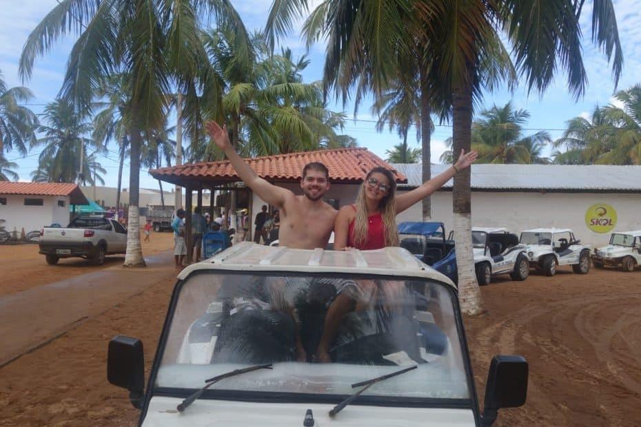 passeio de Bugre em Alagoas