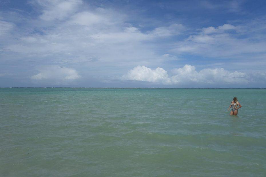 piscinas naturais da Praia do Francês em Alagoas