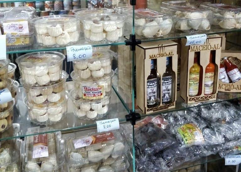 Onde comprar lembrancinhas baratas em Maceió. Mercado central Maceió