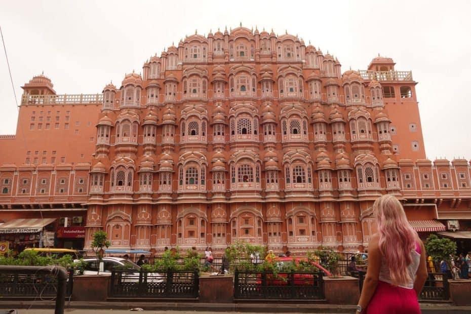Hawa Mahal, Palácio dos ventos, Jaipur, India