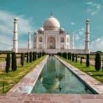 Taj Mahal - uma das 7 maravilhas do mundo