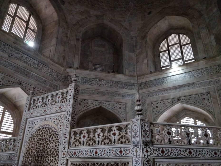 Por dentro do Taj Mahal