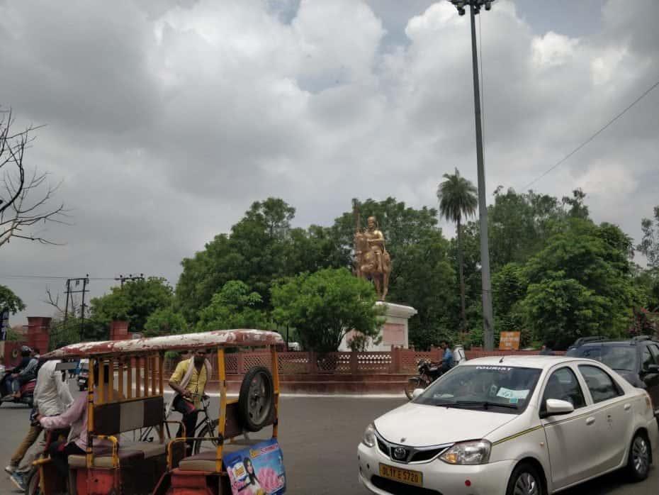 Táxi em Agra, India