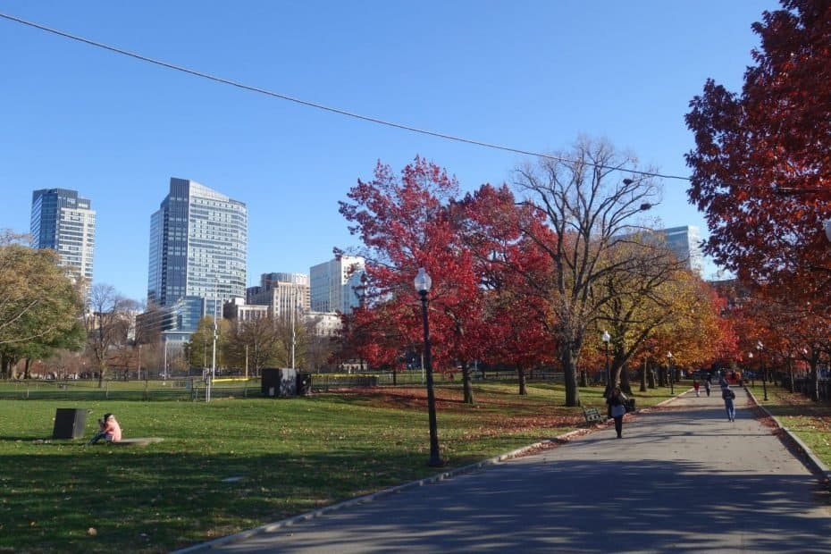 Parque Boston Common