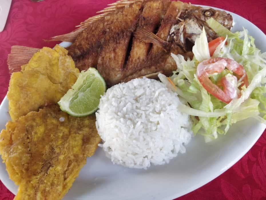 Melhor almoço de San Andres