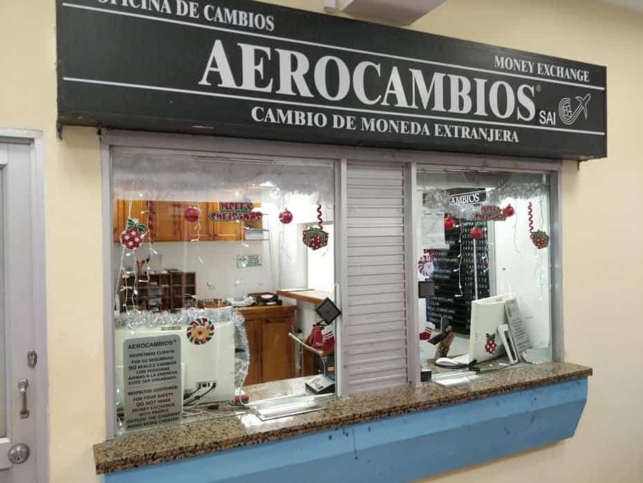 Casa de câmbio aeroporto de San Andres