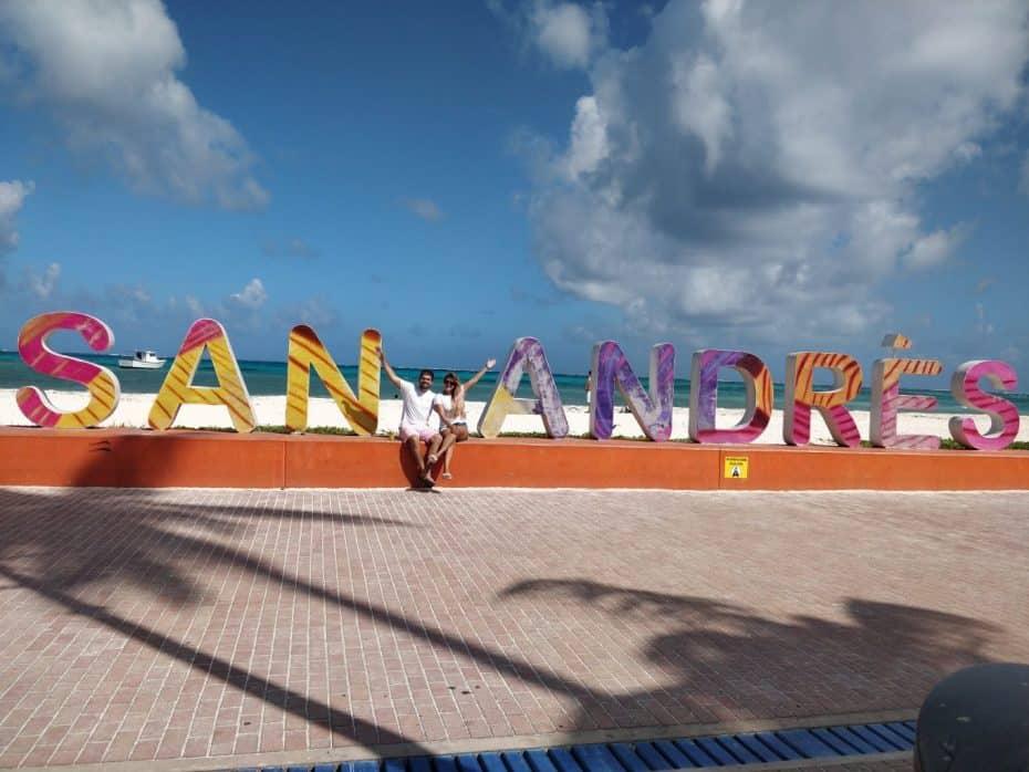 Letreiro San Andres