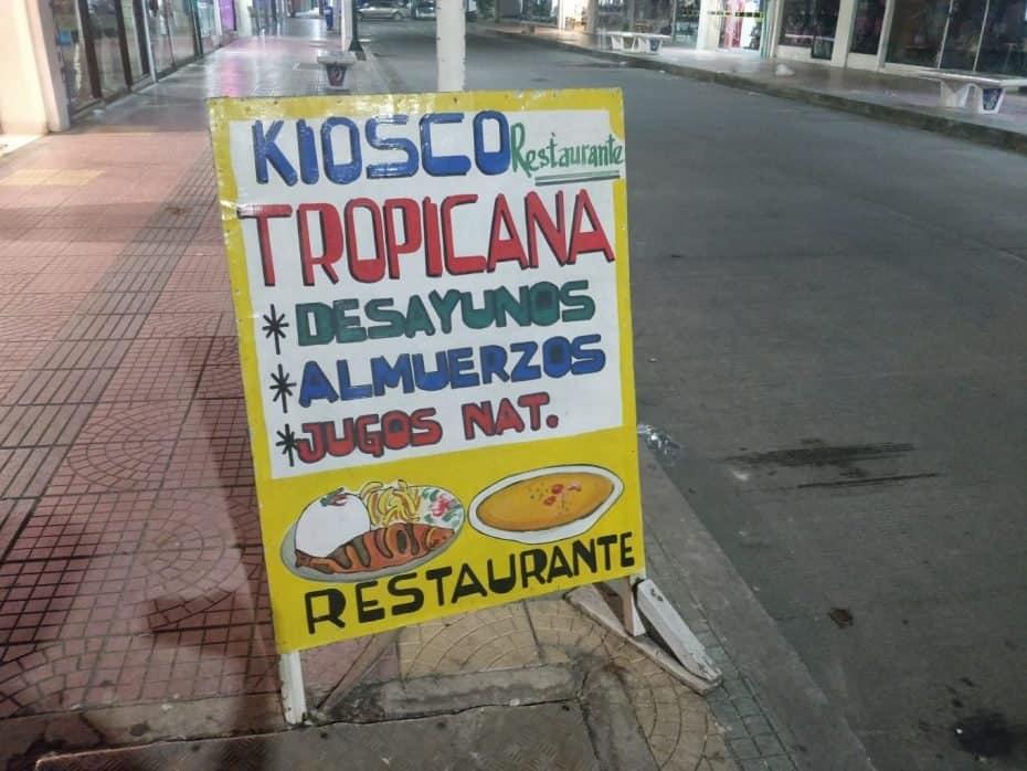 Restaurante Tropicana, San Andres
