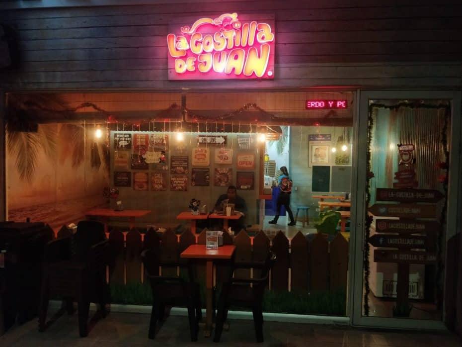 Restaurante La Costilla de Juan, San Andres
