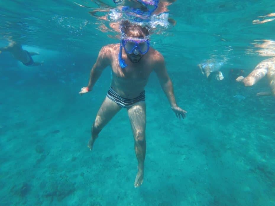 Mergulho de snorkel em San Andres