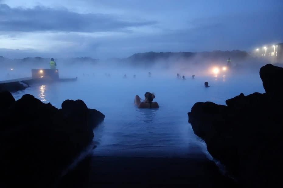 Blue Lagoon a noite