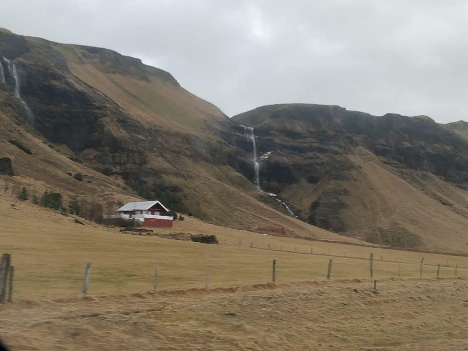 Cenário de filme da Islândia