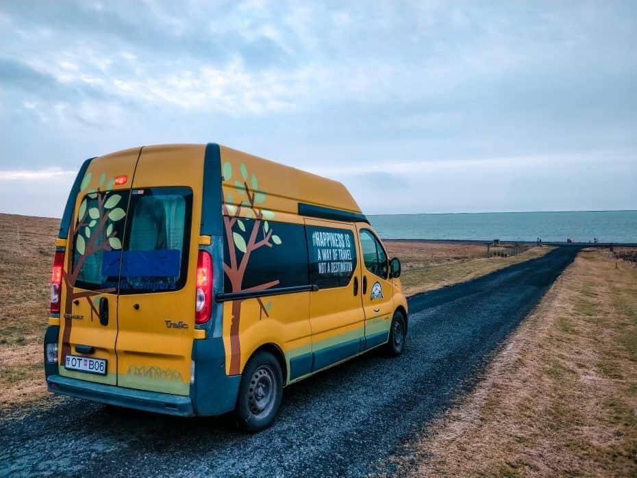 dirigir na Islândia