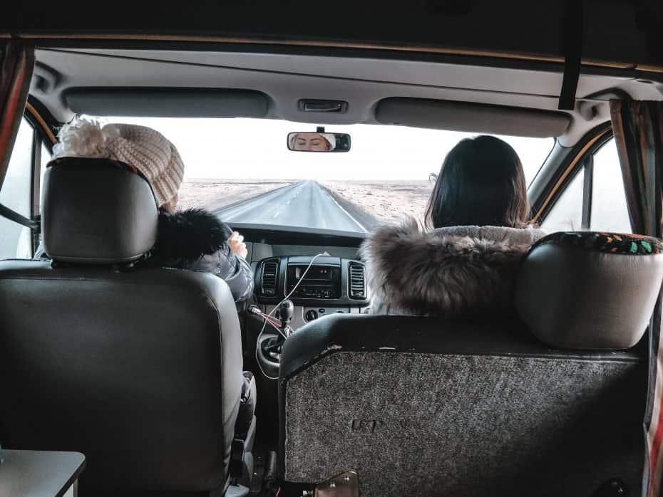 Viajar de campervan na Islândia