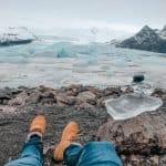 gelo na Islândia