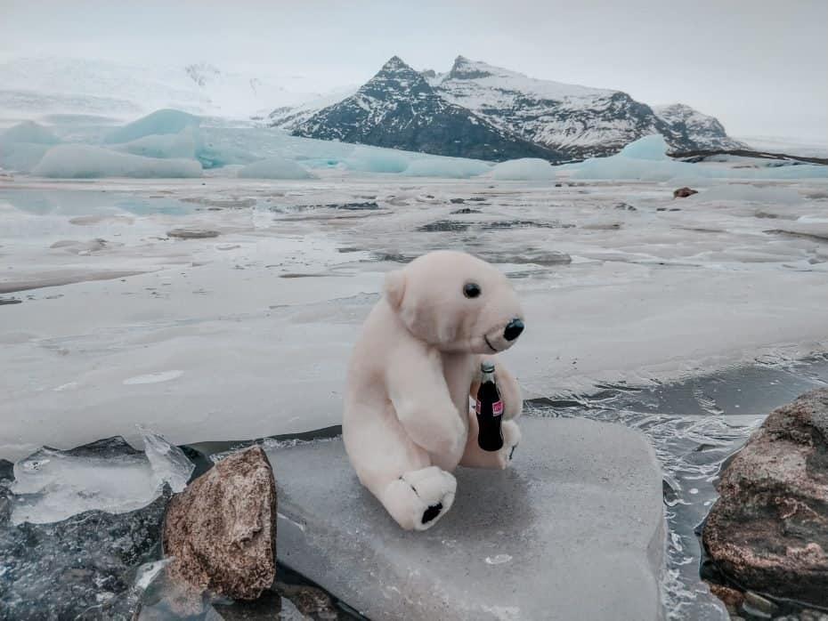 Os visuais mais lindos do mundo - glacial na Islândia
