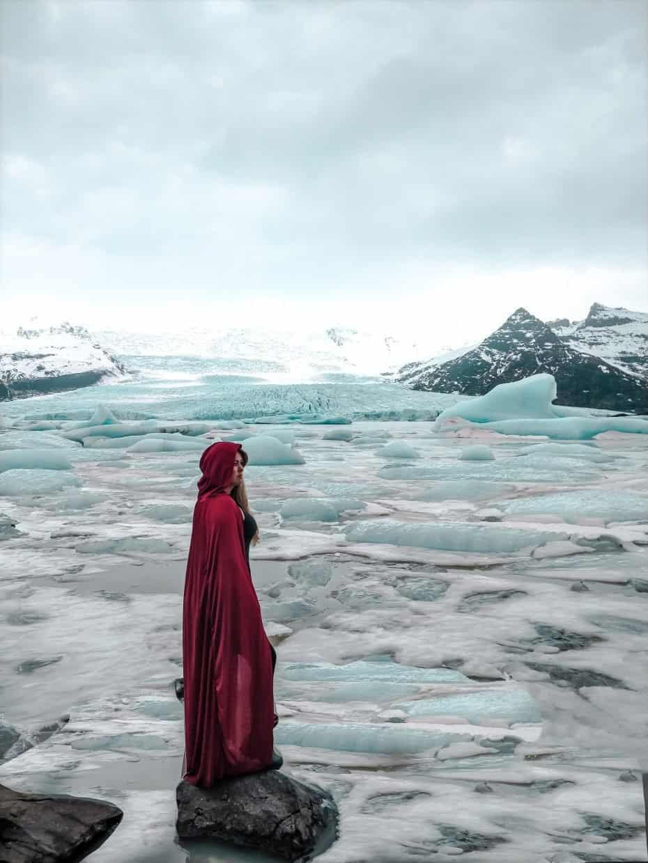 Principais paradas Islândia - Glacial Fjallsárlón