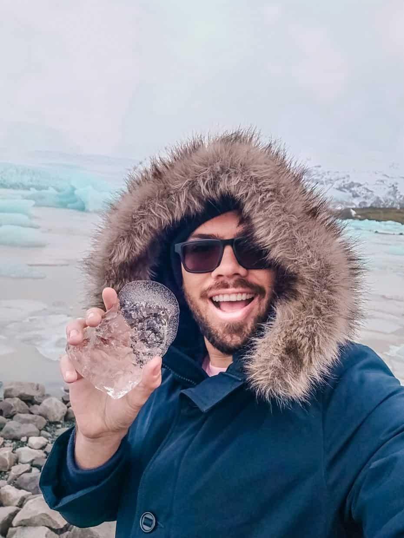 Quao gelado é a Islândia - glaciais