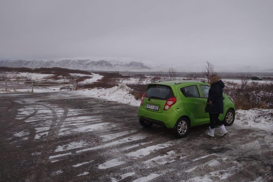 aluguel de carro barato na Islândia
