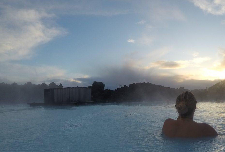 temperatura da Blue Lagoon na Islândia