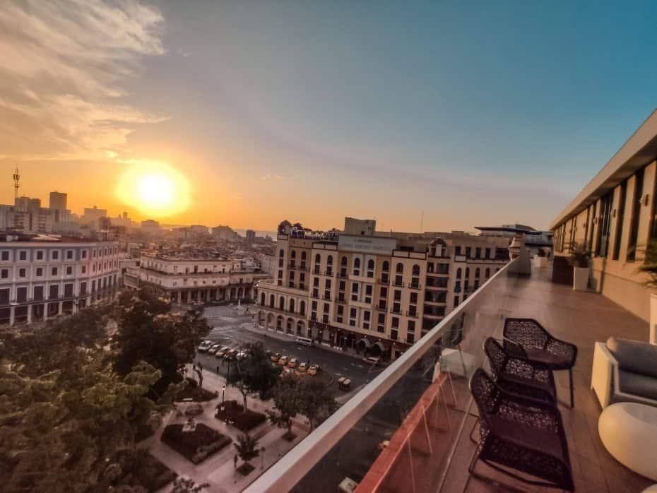 pôr do sol em Cuba