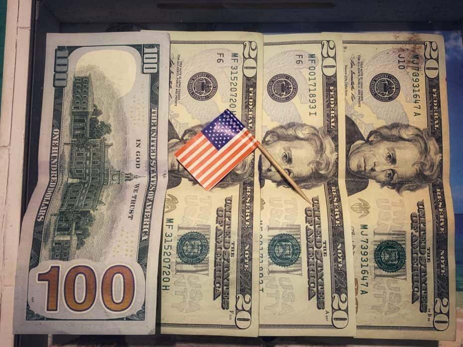 Valor visto americano $160
