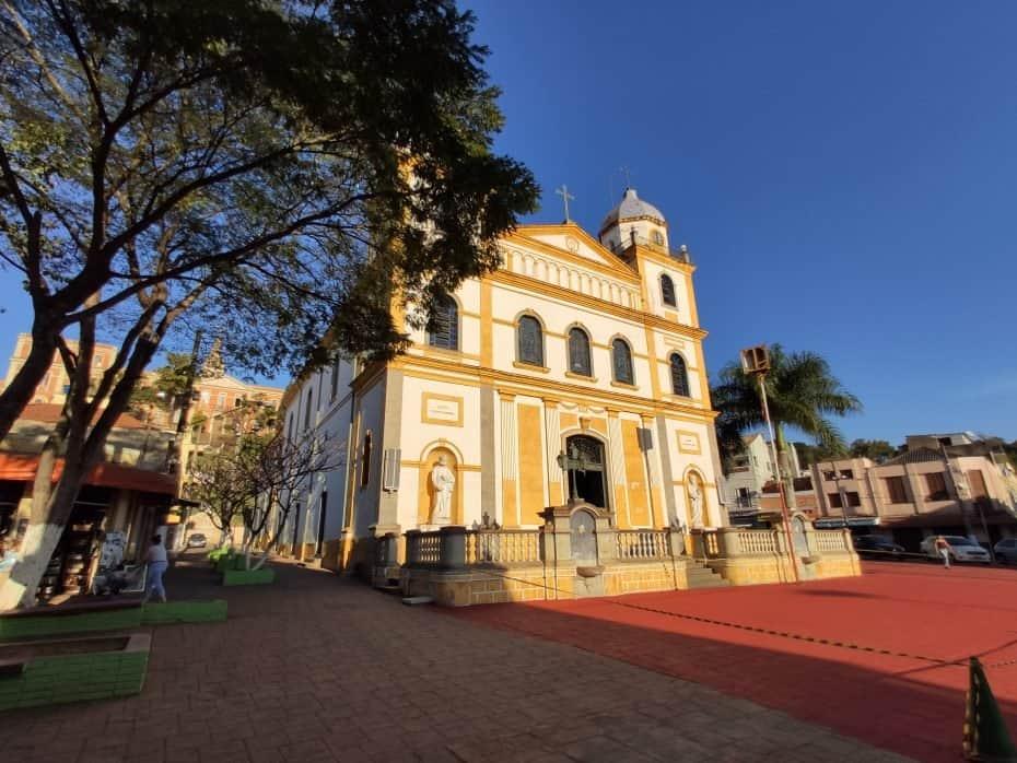 Fachada Igreja Matriz, Pirapora do Bom Jesus,SP, Foto: Paula Rocha