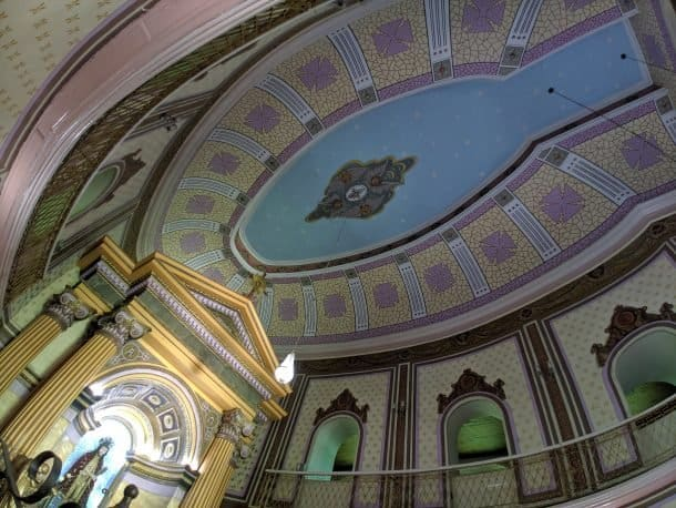 Teto da Igreja Matriz, Pirapora do Bom Jesus, Foto: Paula Rocha