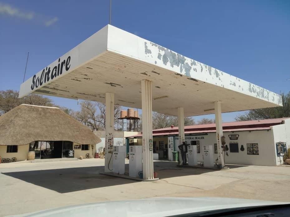 Postos de gasolina Namíbia