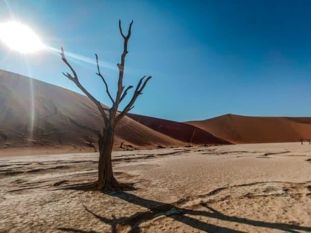 Como chegar na Namíbia