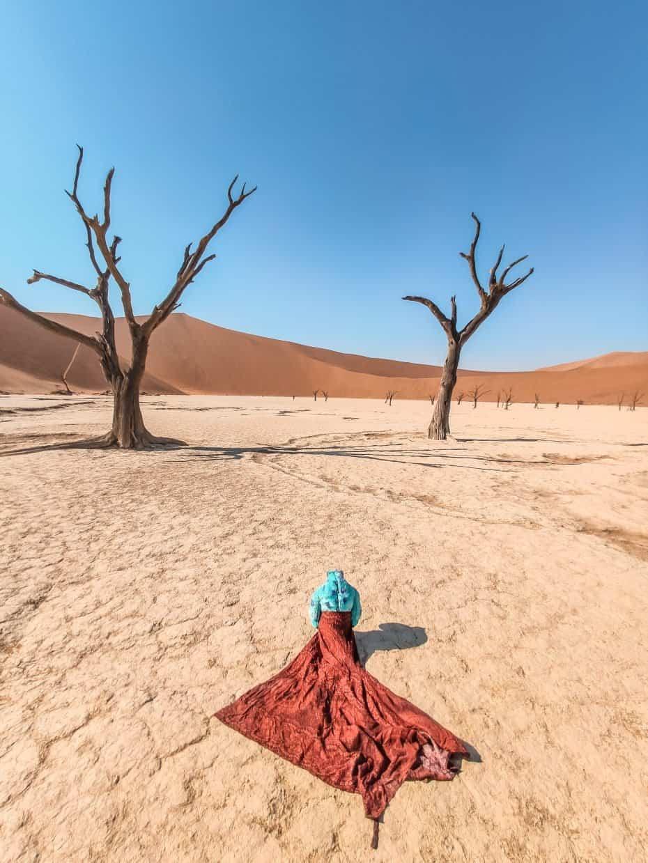 quando ir para Namíbia