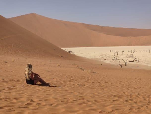 Dead Vlei Namíbia fotos