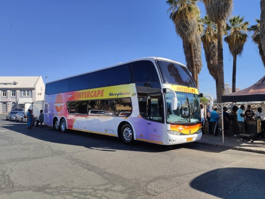 ônibus para Namíbia