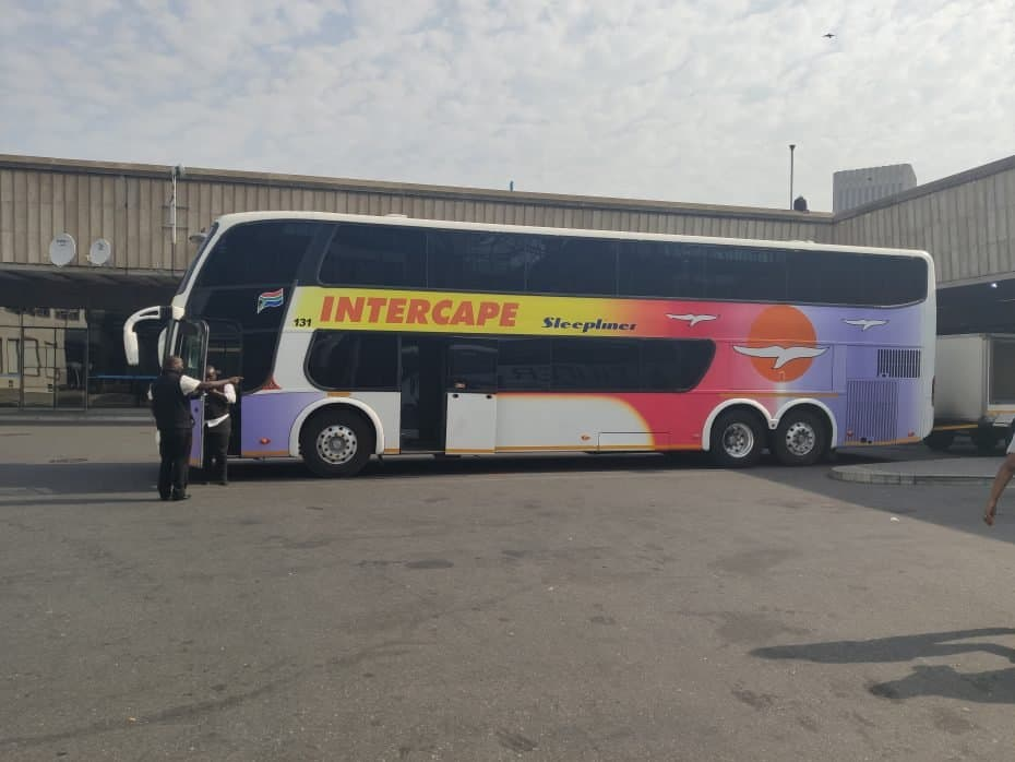 Cape Town para Namíbia