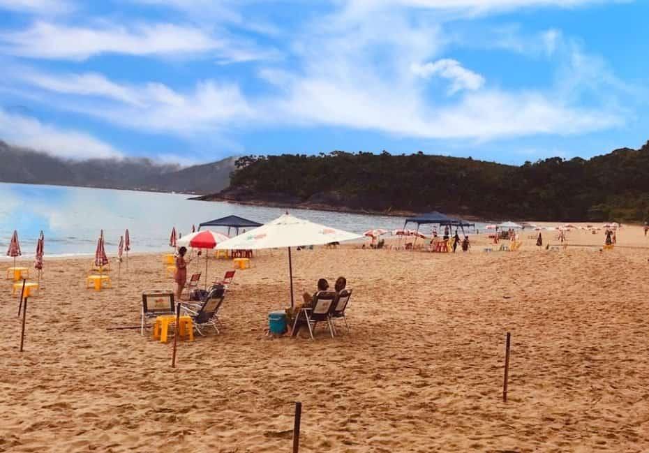Praia de Paúba, São Sebastião