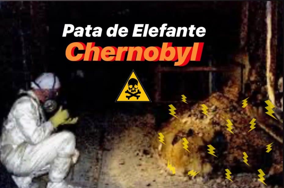 Pata de elefante de Chernobyl