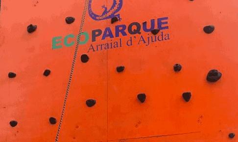 escalada do Parque aquatico de Porto Seguro