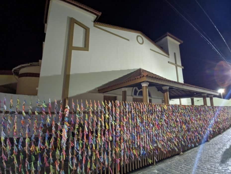 Igreja das fitinhas em Porto Seguro