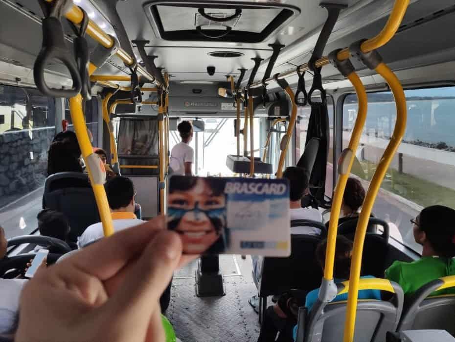 Onde fica Porto Seguro, ônibus em Porto Seguro